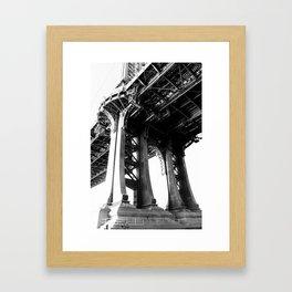 Manhattan Bridge 2 Framed Art Print