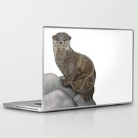 otter Laptop & iPad Skins featuring Otter by ZHField