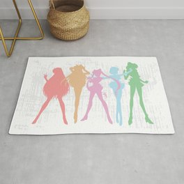 Sailor Moon Rug