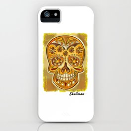 Sugar Skull - Day of the Dead iPhone Case