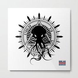 Cthulhu viu essa zoeira! Metal Print