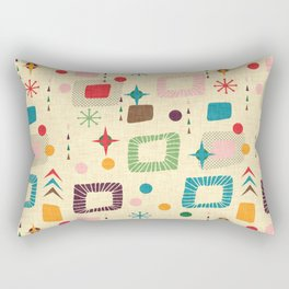 Atomic pattern Rectangular Pillow