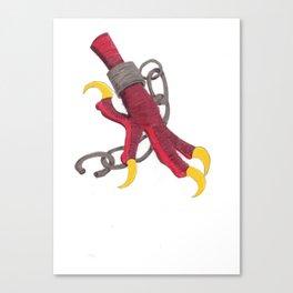 Break free -red Canvas Print