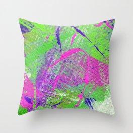 Ink Splash 03 Throw Pillow