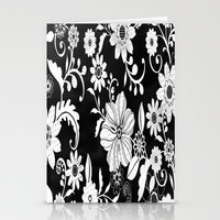 floral pattern Stationery Cards featuring Floral pattern by Laake-Photos