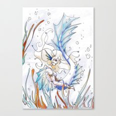 Sirène Canvas Print