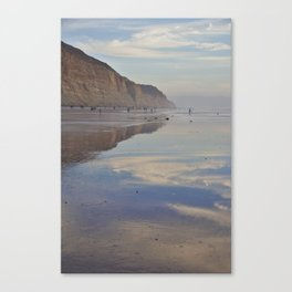 Beach Reflections - Photography Canvas Print