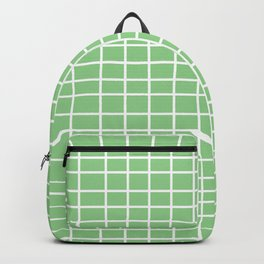 Squares of Green Backpack
