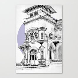 Palace of Industry Canvas Print