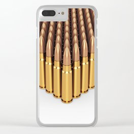 Ammunition Clear iPhone Case