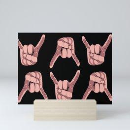 Devil's Horn Mini Art Print
