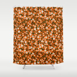 Daisy by Veronique de Jong Shower Curtain