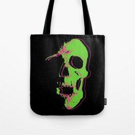 Skull - Neon Tote Bag