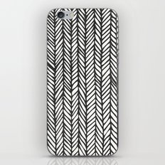 Black Threads iPhone Skin