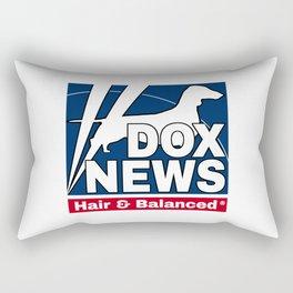 dox news Rectangular Pillow