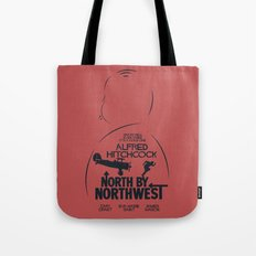 North by Northwest - Hitchcock Movie Poster Tote Bag