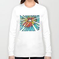 floyd Long Sleeve T-shirts featuring Floyd Forest by TheSeed91
