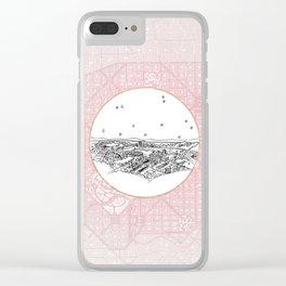 Belo Horizonte, Brazil City Skyline Clear iPhone Case