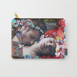 Klimt Kiss Collage Carry-All Pouch