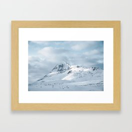 The Mountain, Iceland Framed Art Print