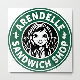 Sandwich Shop Metal Print