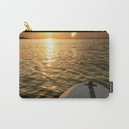 Paddle Board Sunset Carry-All Pouch