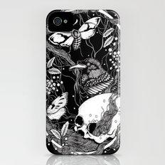 edgar allan poe - raven's nightmare Slim Case iPhone (4, 4s)