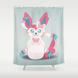 Evolution Bobbles - Sylveon Shower Curtain