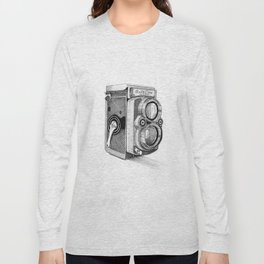Rolleiflex Vintage Camera Long Sleeve T-shirt