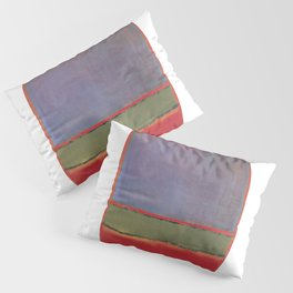 1951 No 6 Violet Green and Red by Mark Rothko HD Pillow Sham
