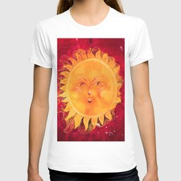 Digital painting of a chubby sun with a funny face T-shirt