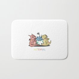 Magical Dragons Autism Awareness Day Autistic Gift Bath Mat
