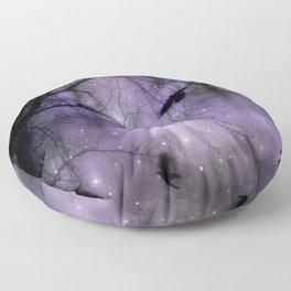 Misted Purple  Floor Pillow
