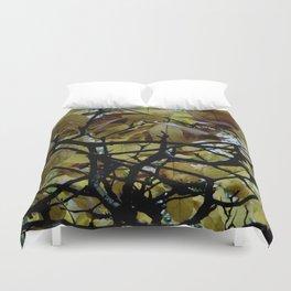Umbrella Tree ~ Autumn Duvet Cover