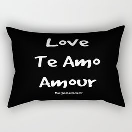 Love Is A Universal Language Rectangular Pillow