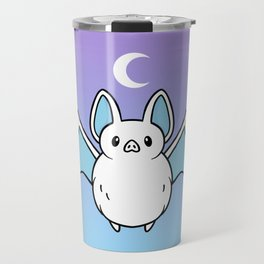 Cute Night Bat Travel Mug