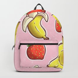 Strawberry and Banana Backpack