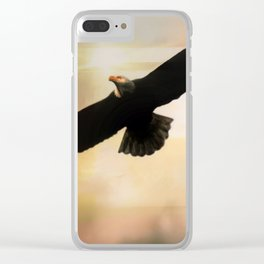 Soar High And Free Clear iPhone Case