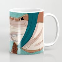 booty Mugs featuring Booty by MJ Erickson