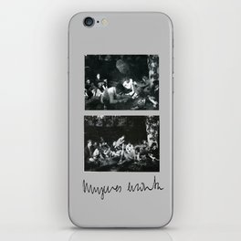 it was delicious (losing you) • mujeres encinta iPhone Skin
