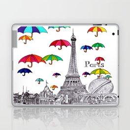 Travel with Umbrella Laptop & iPad Skin