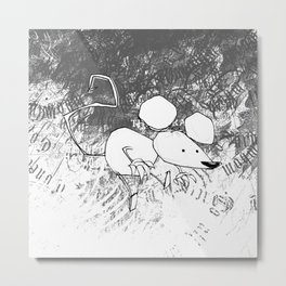 minima - deco mouse Metal Print