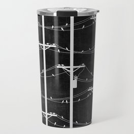 Telephone Poles - NIGHT Travel Mug