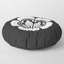 Oda Clan · White Mon Floor Pillow