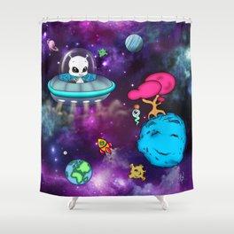 Space Buddies Shower Curtain