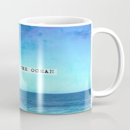 Take me to the ocean Kaffeebecher