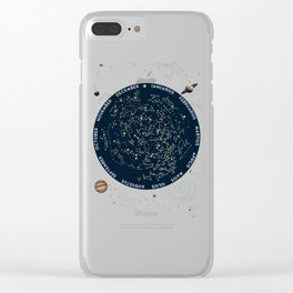 Come with me to see the stars Clear iPhone Case