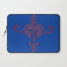 Voodoo Symbol Erzulie Laptop Sleeve