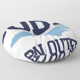 Southern Outer Banks - North Carolina. Floor Pillow