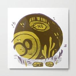 Magic No Ball Metal Print